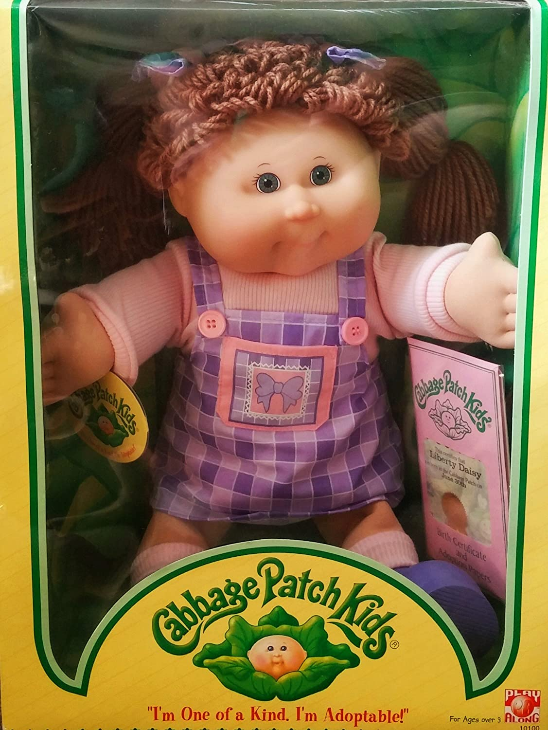 Amazon.com: 2004 - 2011 Cabbage Patch Kids Doll From Play Along ...
