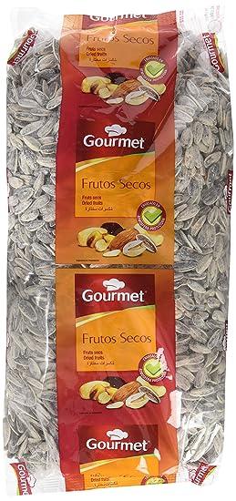 Gourmet Frutos secos - Pipas de girasol tostadas y saladas, 1kg - [Pack de