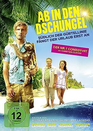 Amazon Com Ab In Den Dschungel Dvd 2015 Movies Tv