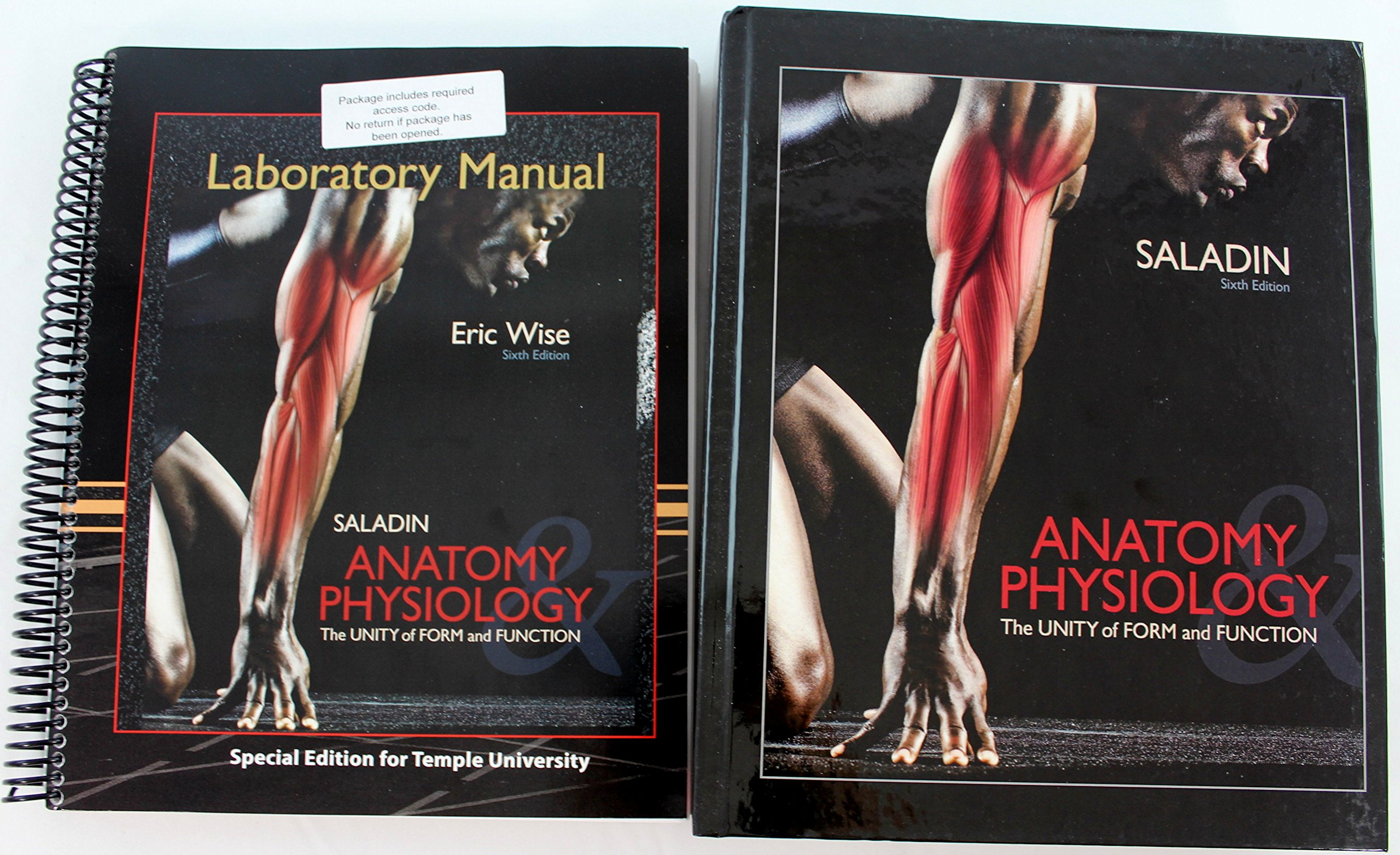 Saladin Anatomy Physiology Laboratory Manual and Anatomy ...