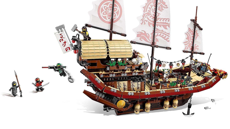 LEGO Ninjago Jeu de Construction Le QG des ninjas 70618