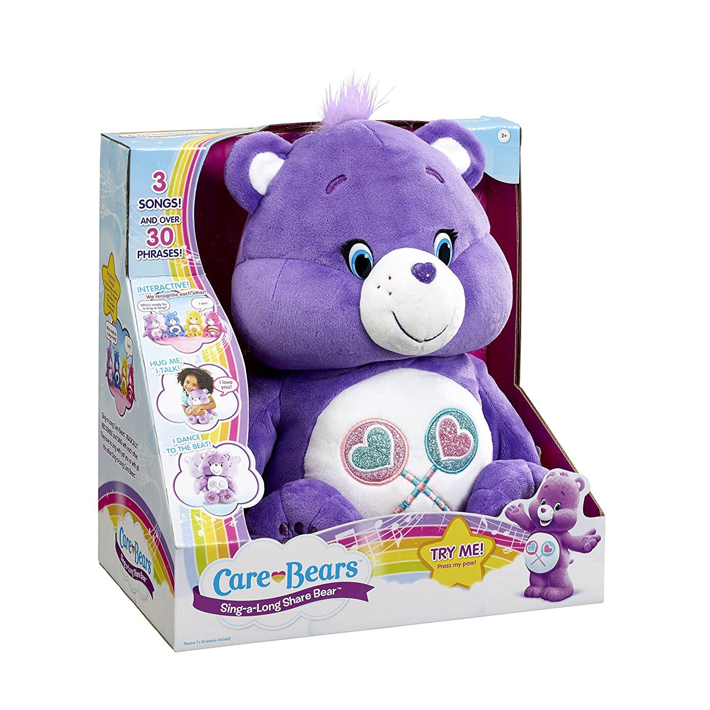 Care Bears Share SingaLong Plush Toy Amazoncouk Toys  Games