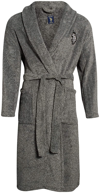 U.S. Polo Assn. Men\s Super Soft Plush Robe, Size Large/X-Large ...