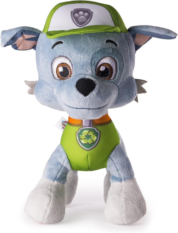 "NEW Paw Patrol Plush Rocky Ultimate Rescue  8/"" stuffed animal"