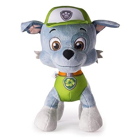 "rocky paw patrol  : Paw Patrol - Basic 10"" Plush - Rocky: Toys & Games"