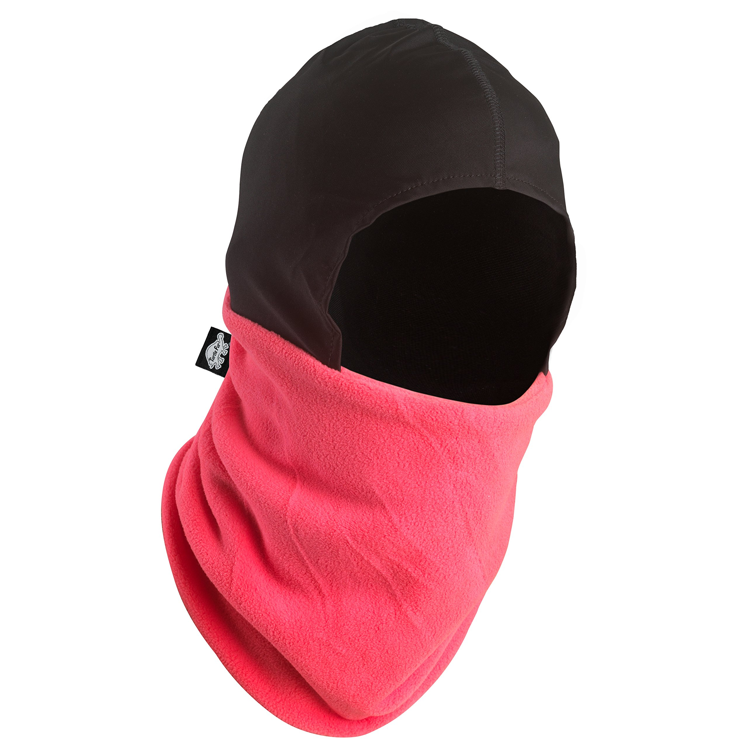 Turtle Fur Shellaclava, Heavyweight Chelonia 150 Fleece Balaclava, Hottie Pink