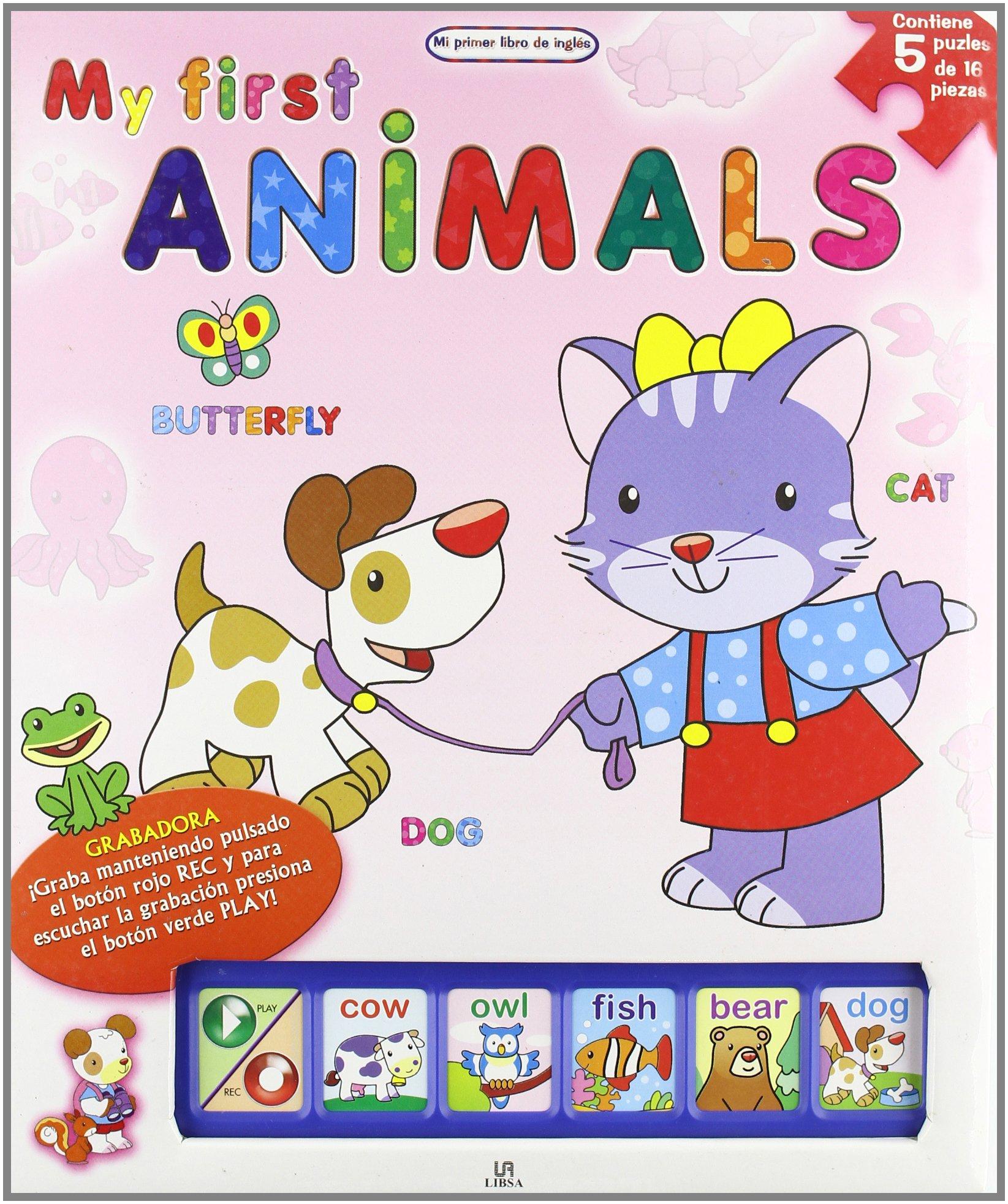 My First Animals (Mi Primer Libro De Ingles/ My First English Book) (Spanish Edition) pdf epub