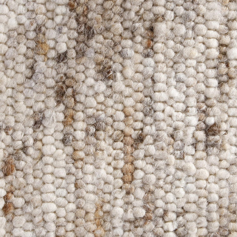 Taracarpet Moderner Landhaus Teppich Handwebteppich Handwebteppich Handwebteppich Fjord aus hochwertiger Schurwolle beidseitig legbar echte Handarbeit Farbe 1 Natur meliert 070x140 cm B07318RH9Y Teppiche f4dcaa