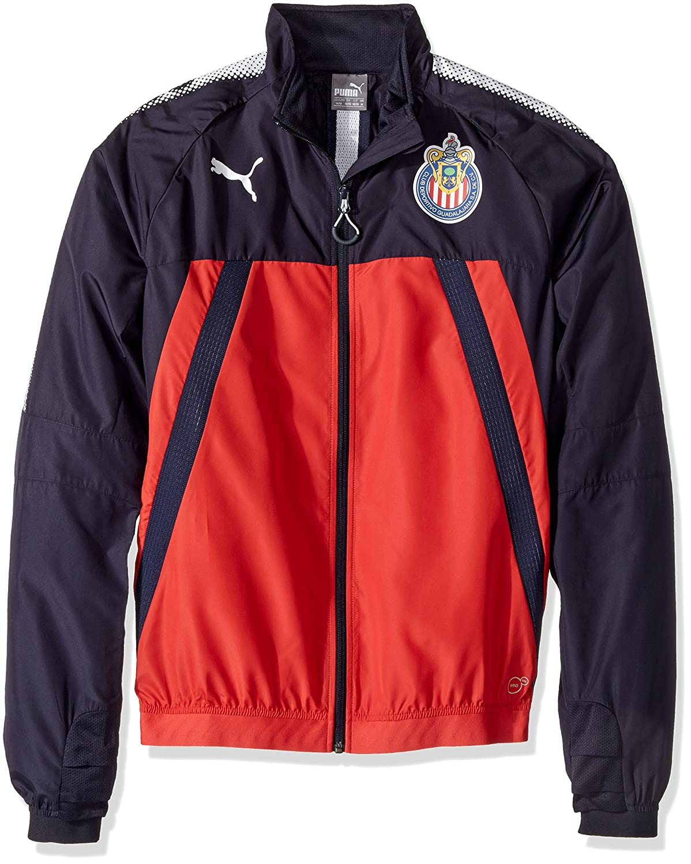 4c64ff3a1fb4a Amazon.com: PUMA Men's Chivas Stadium Vent Thermo-r JKT: Clothing