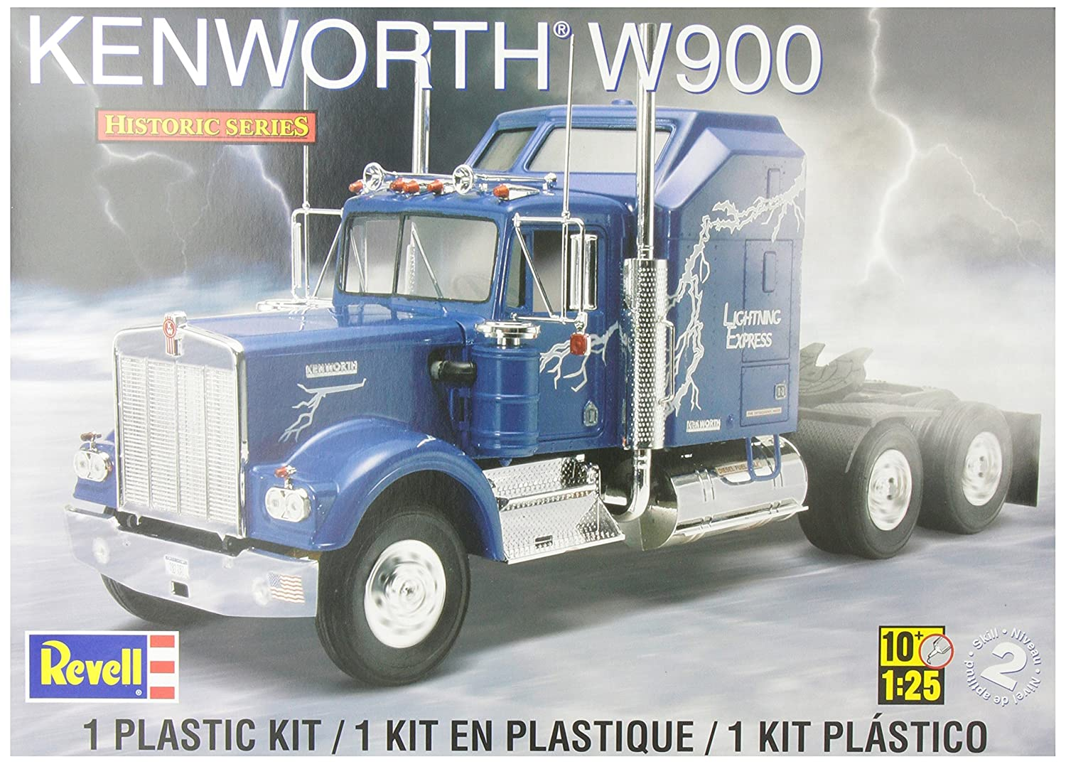Amazon.com: Revell Kenworth W900: Toys & Games