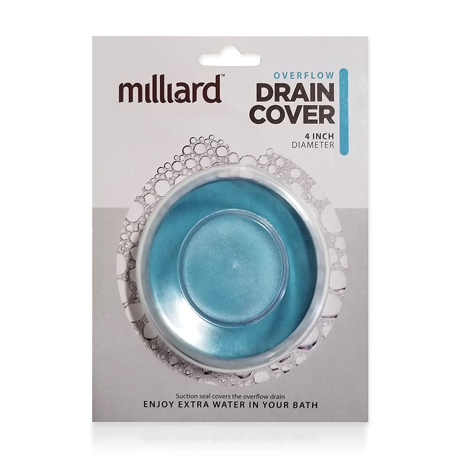 Amazon.com: Milliard Bathtub Overflow Drain suction Cover/plug for ...