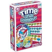 Ks Games Zamanı Öğreniyorum 3 Parça Eğitici Oyun