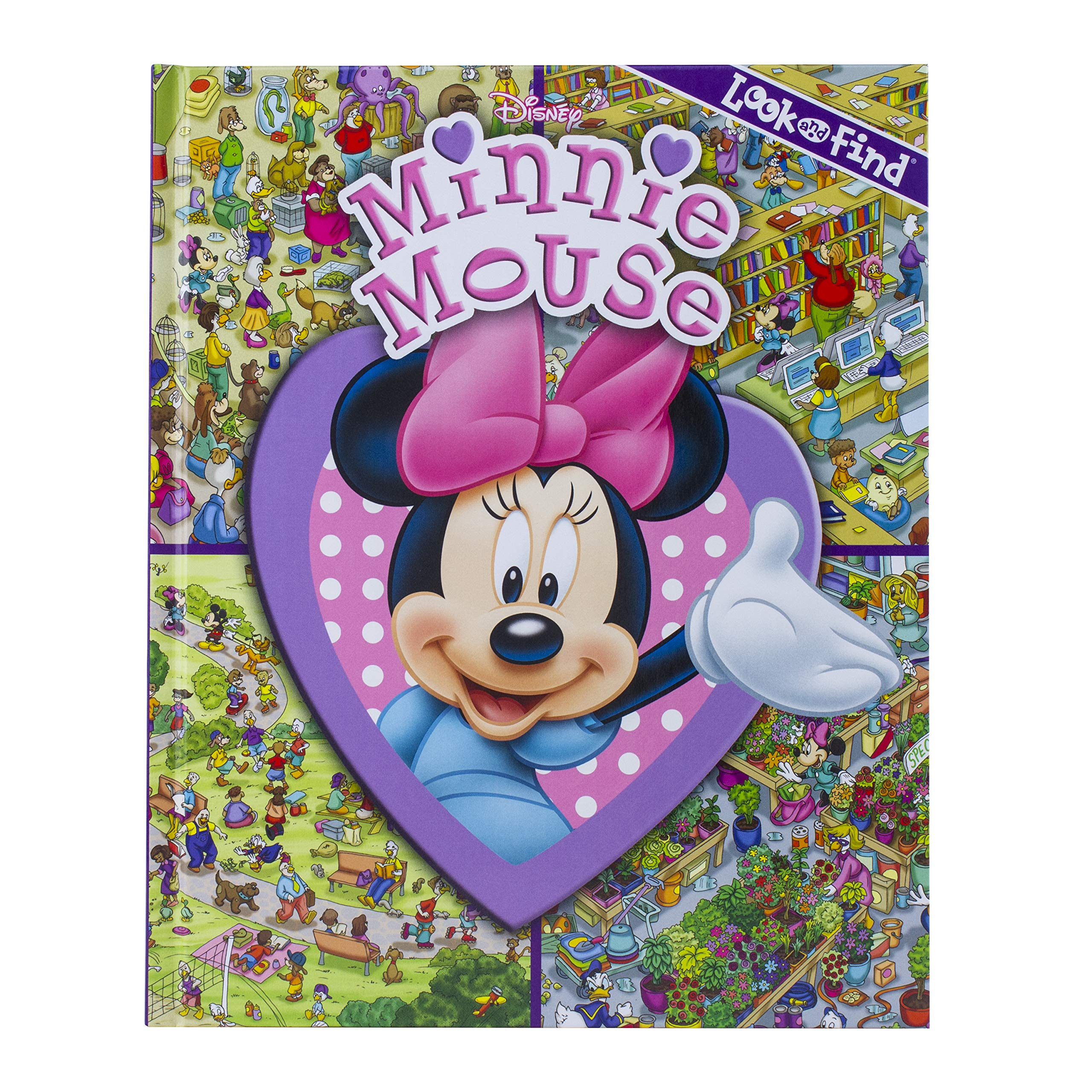 Download Disney Minnie Mouse - Look and Find - PI Kids pdf