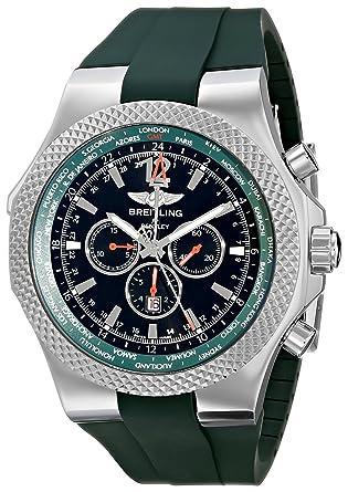 Breitling Bentley Watch >> Amazon Com Breitling Men S A47362s4 B919 Bentley Gmt Chronograph
