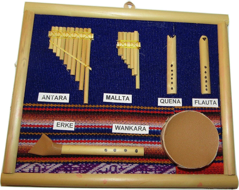 Instrumentos musicales de Perú listo para colgar), diseño de ...