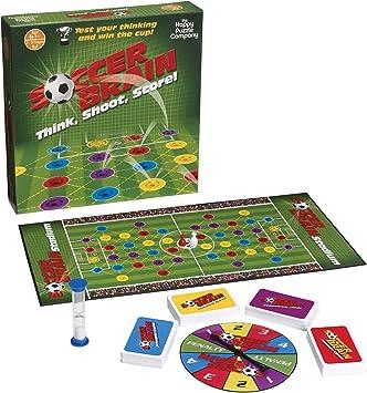 Soccer Brain - Juego de mesa inspirado en el fútbol (podría no estar en español): Amazon.es: Juguetes y juegos
