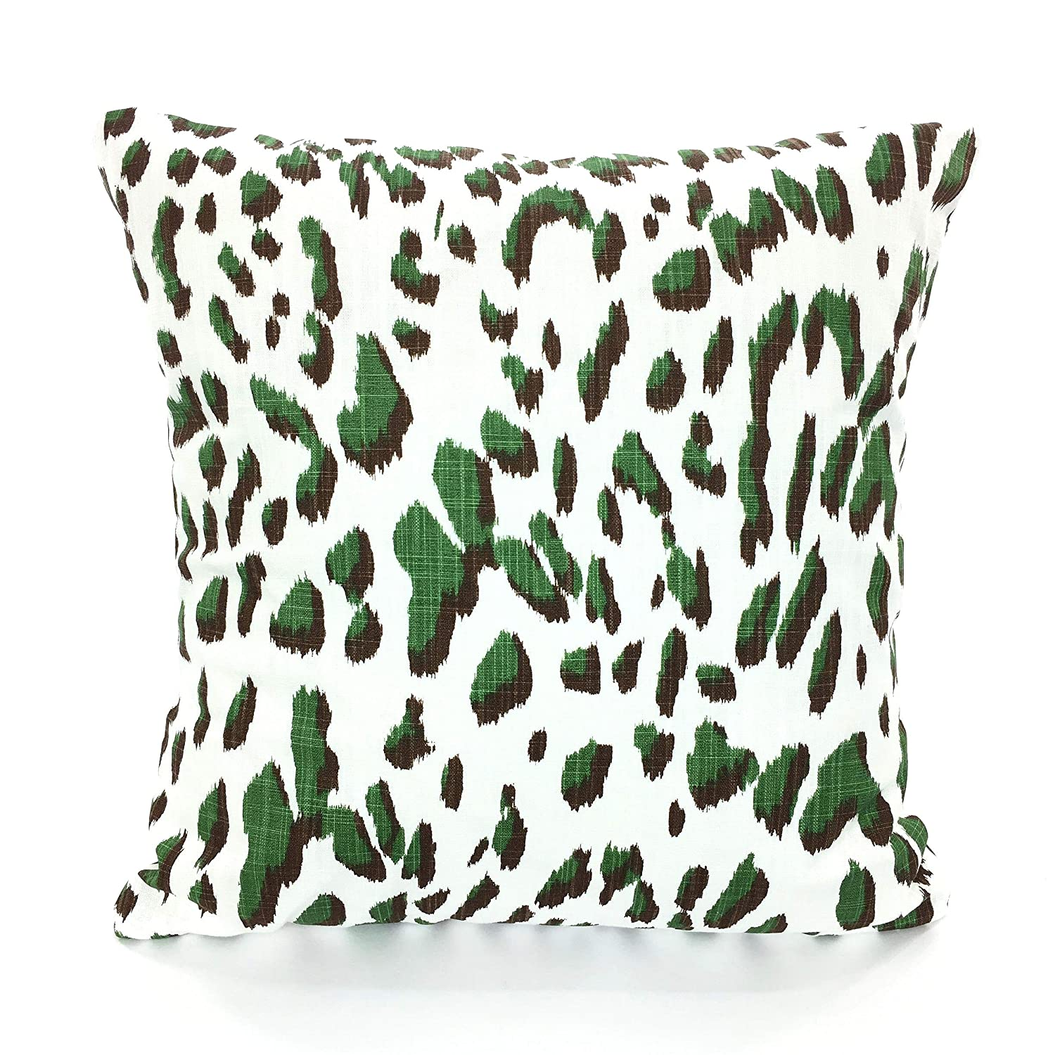 Awesome Amazon Com Pillow Covers Green White Decorative Pillows Dailytribune Chair Design For Home Dailytribuneorg