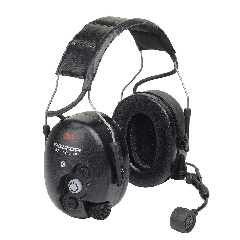 9. 3M PELTOR WS ProTac XP Ear Defender Headband Bluetooth 31 dB Black MT15H7AWS5