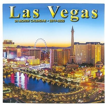 Miami Dade Public Schools Calendar 2014-2020 Amazon.: Las Vegas 2019 2020   24 Month Calendar : Office Products