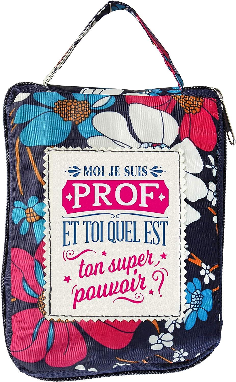 LES PETITES NANAS 04221000013 - Bolsa de la Compra Personalizada (poliéster, Multicolor, Azul, Rojo, Rosa, Talla única)
