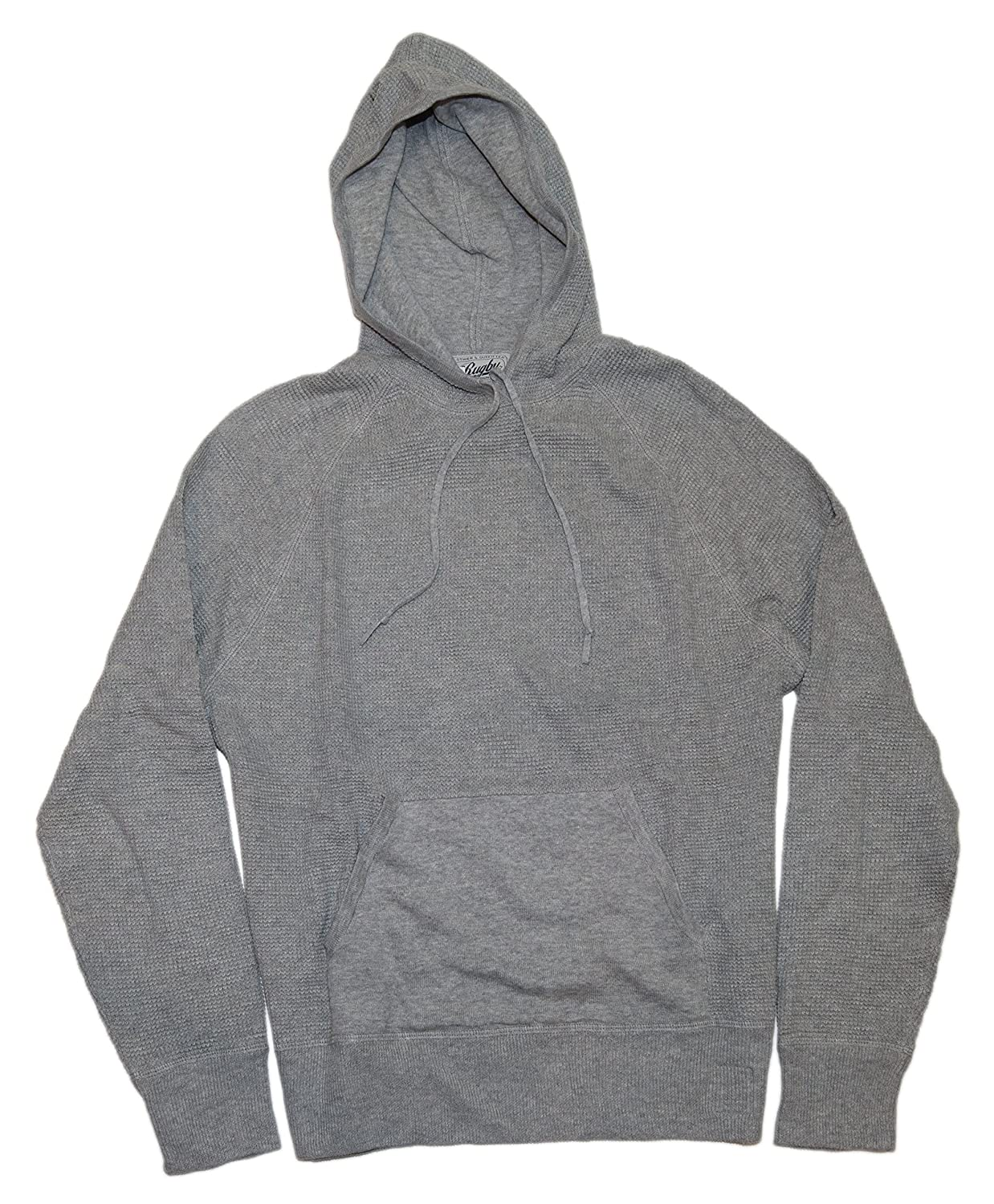 Polo Ralph Lauren Rugby Mens Hoodie Sweatshirt Shirt Thermal Cotton Gray  Small at Amazon Men s Clothing store  Fashion Hoodies be79484db