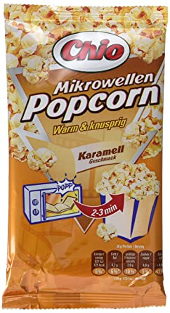 popcorn in der mikrowelle