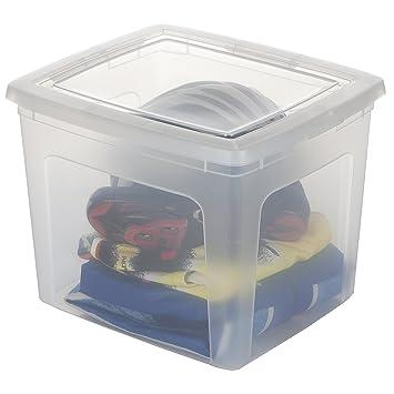 Super Iris 104264.0 Set von 4 Aufbewahrungsboxen mit Deckel  EY35