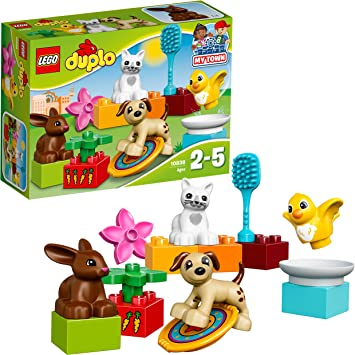 Oferta amazon: LEGO DUPLO Town - Mascotas familiares (10838)