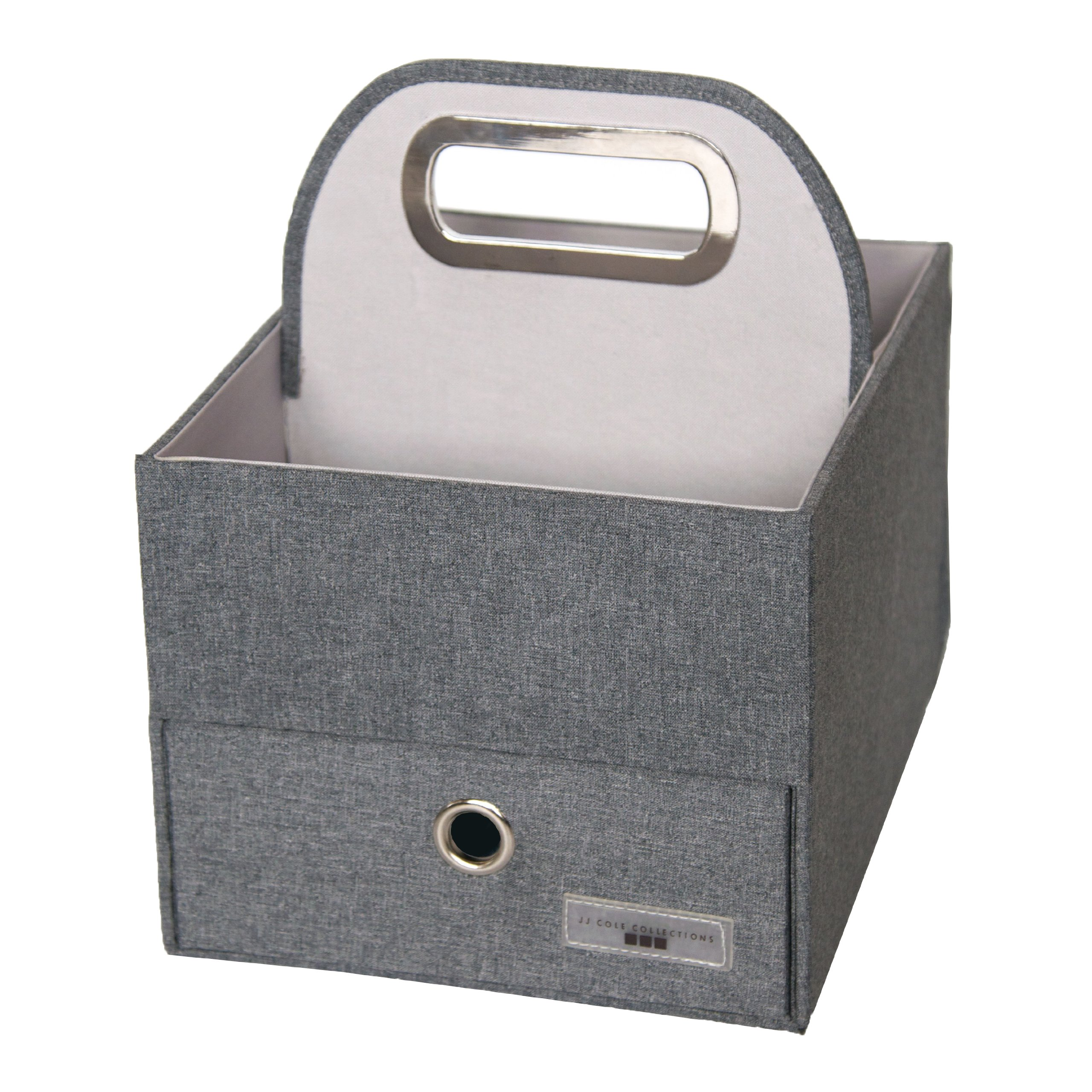 JJ Cole Diaper Caddy - Slate Heather by JJ Cole