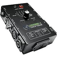 Mackie Comprobador de cables, interruptor de 6 vías Comprobación del conector alimentado por batería (MTest-1)