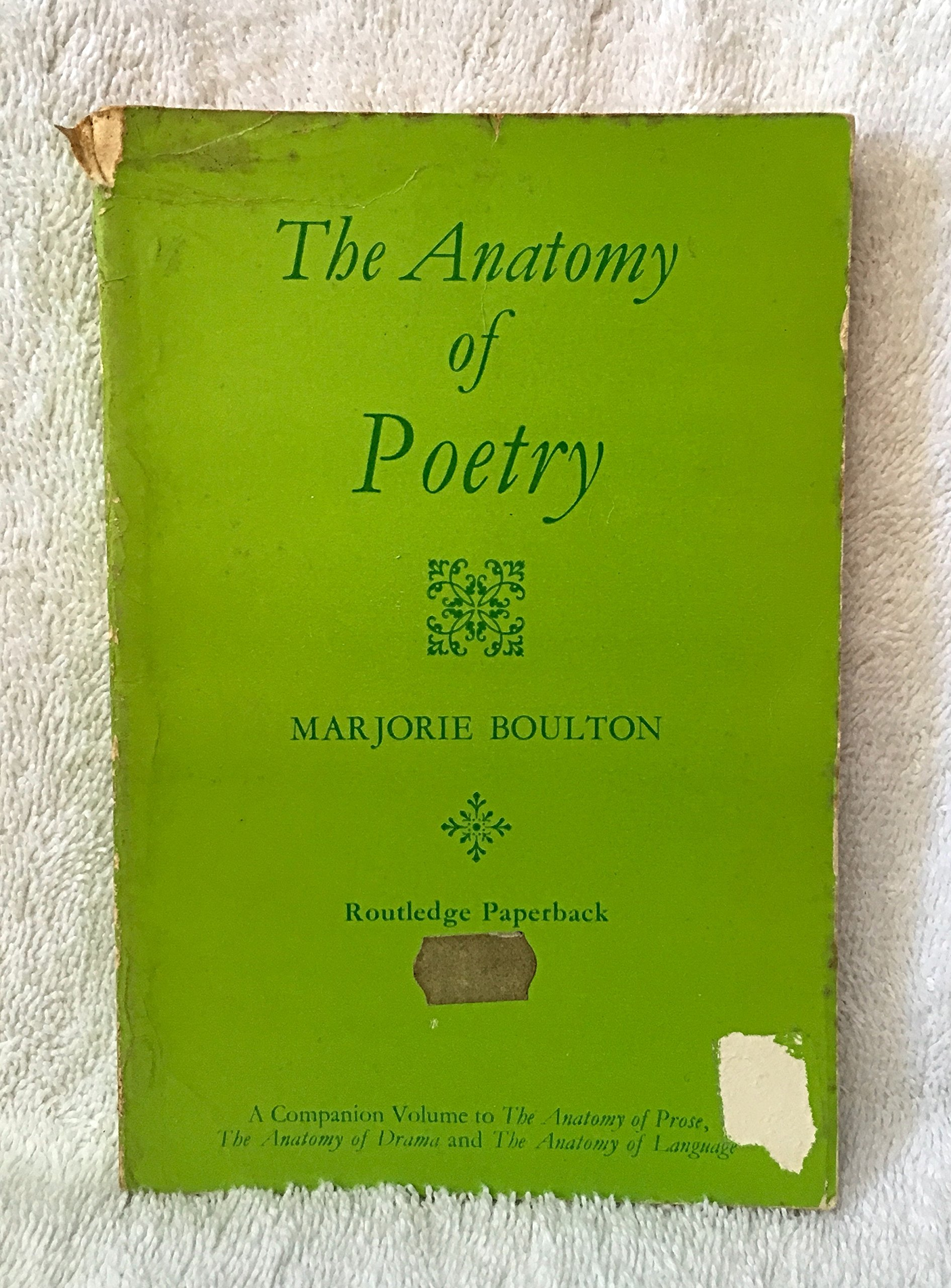 Buy Anatomy of Poetry Book Online at Low Prices in India | Anatomy ...