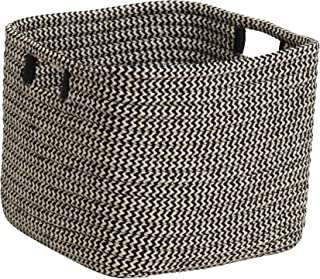 """product image for Colonial Mills Carter Basket, 14""""x14""""x12"""", Black"""