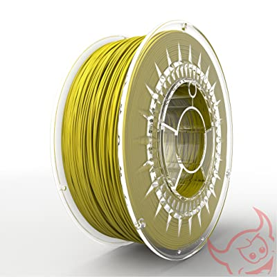 3D Filament PLA 2,85 mm Jaune clair (Made in Europe)