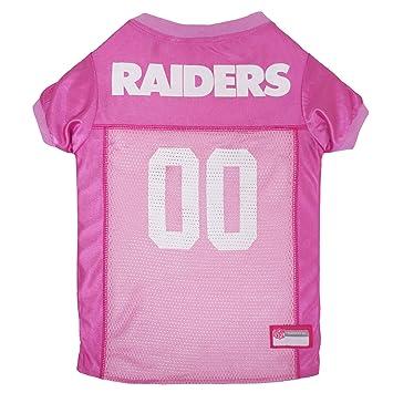 584a77667 Amazon.com   NFL OAK-4019-MD Oakland Raiders Pet Pink Jersey