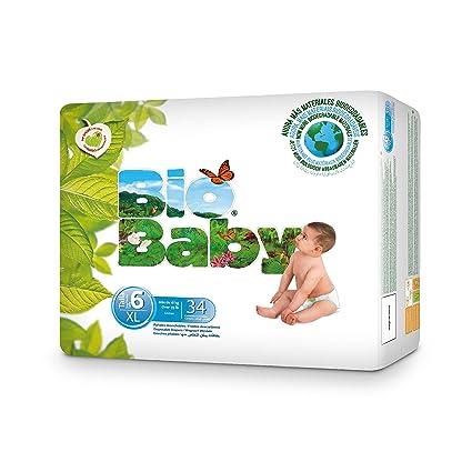 BabyBio Pañales Bio Baby T6 (+16kg) 34 Unidades
