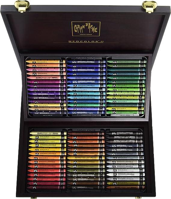 Japan genuine Caran d/'Ache Neo pastel 48 color set 7400-348