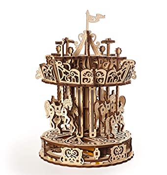 Mechanical Metal Clock DIY Assemble Model Kit Steampunk Style X-mas Luxury Gifts