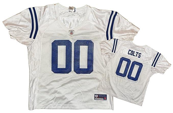 Reebok Indianapolis Colts NFL - Réplica de la Camiseta de Equipo, Hombre, Color Blanco, tamaño X-Large: Amazon.es: Ropa y accesorios