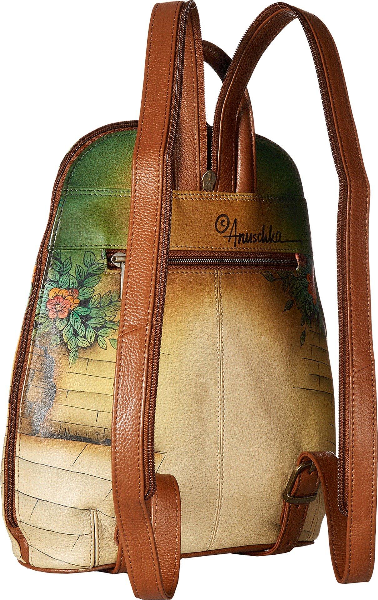 Anuschka Handbags Women's 487 Sling Over Travel Backpack Vintage Bike Handbag by ANUSCHKA (Image #2)