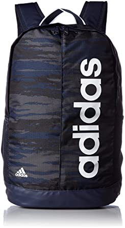 5775e80b90c8d Image Unavailable. Image not available for. Colour  Adidas Linear Performance  Graphic Backpack AY5507