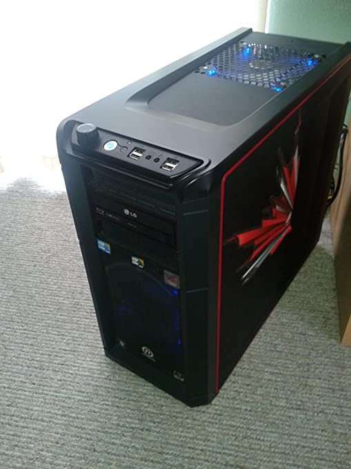 Thermaltake Element G Midi Tower ATX - Caja de Ordenador, Color Negro: Amazon.es: Informática