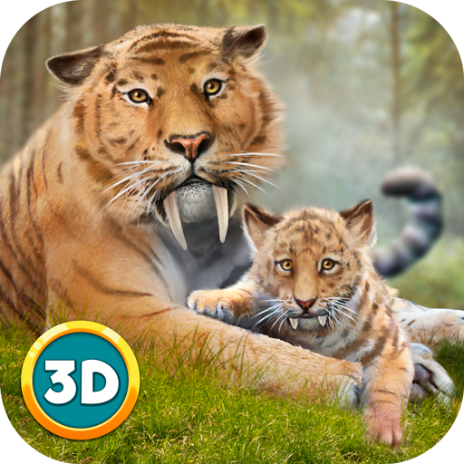 Amazon.com: Sabertooth Tiger Survival Simulator 3D ...