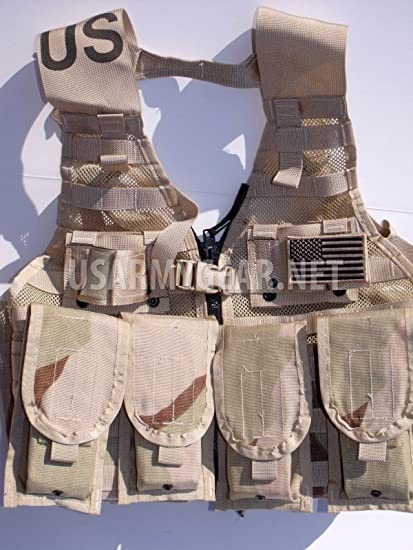 MOLLE II Double Magazine Pouch Tactical Tan Genuine U.S Military MADE in USA