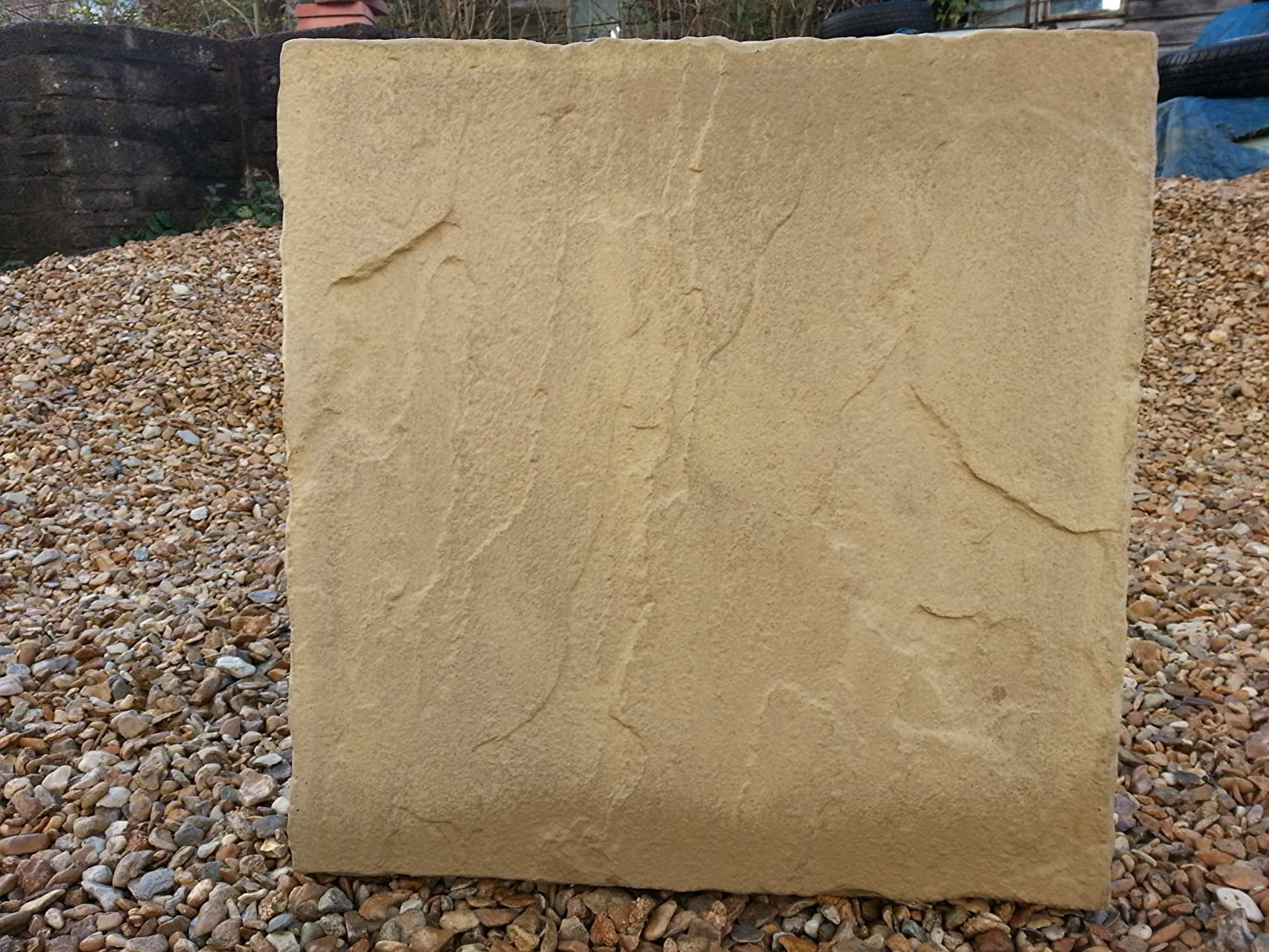 Stone Concrete Paving Patio Slabs 600 X 600. (Pack Of 22): Amazon.co.uk:  Garden U0026 Outdoors