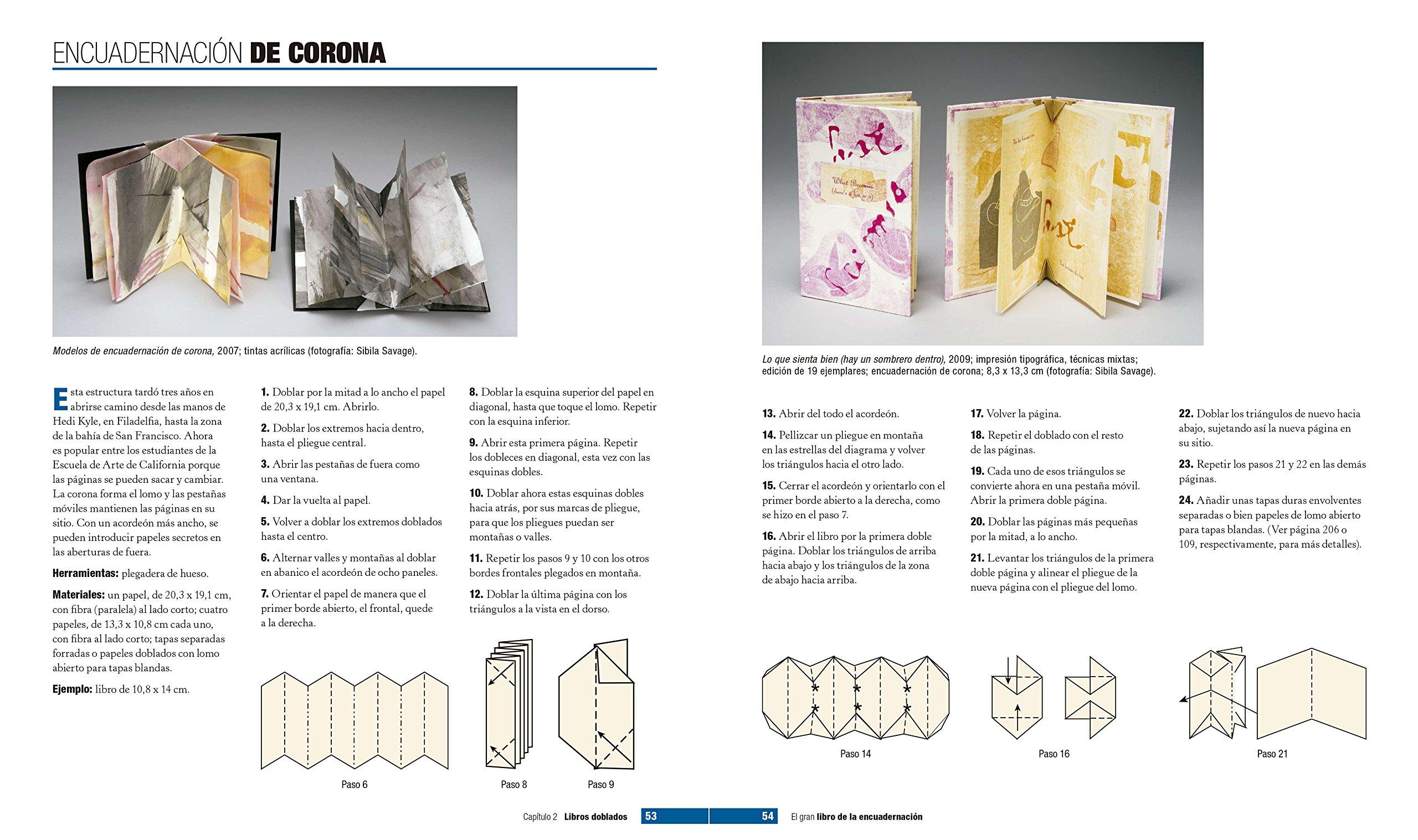 El gran libro de la encuadernación: Alisa Golden: 9788498745634: Amazon.com: Books