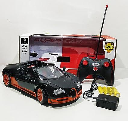 Buy 1:16 Remote Control Bucatti Sports Car (Bucatti-Orange) Online ...