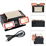 3 in 1 Middle Bezel Frame Separator Machine Cell Phone LCD Glass Plate Build-in Pump Vacuum Repair LCD Screen for Smart Mobile Phone 7 Inch and Below