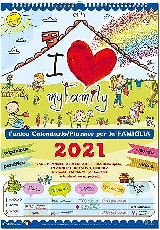 Calendario Agenda della Famiglia 2020   My Family: Amazon.it