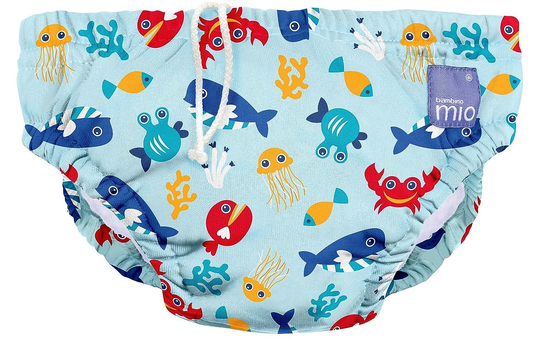 Bambino Mio Reusable Swim Diaper 2 Plus Years Extra Large Pink Petal