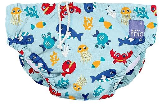 210 opinioni per Bambino Mio Slip Piscina Contenitivo, Taglia 0-6 Mesi,Colore Deep Sea Blue